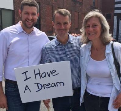 Pat Ryan, Brian Flynn and Jill Fieldstein